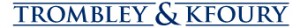 Trombley Kfoury Logo